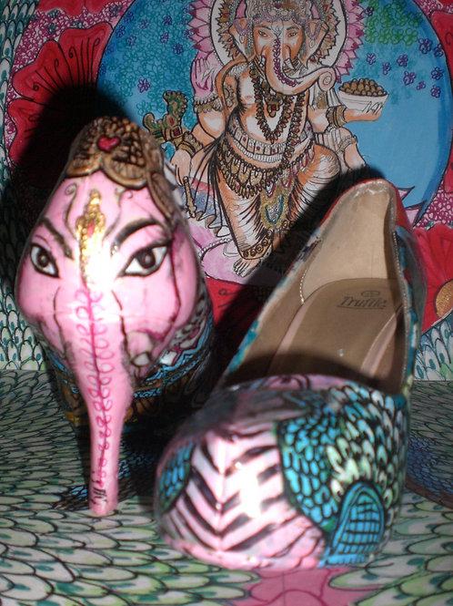Elephant Festival Heels