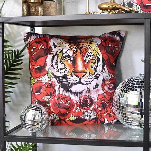 "Tiger Love 18"" Lux Cushion"