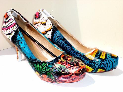 Ice Cream Heels/ Sky Shoes