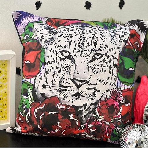 "Retro Leo 18"" Lux Cushion"