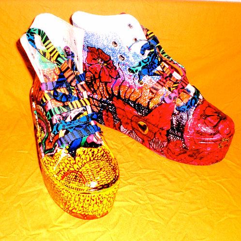 Funky Kicks/ Vibes Platform/Canvas Kicks