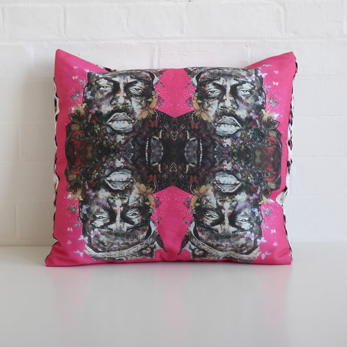 """It was all a dream 18"""" Lux Cushions"""