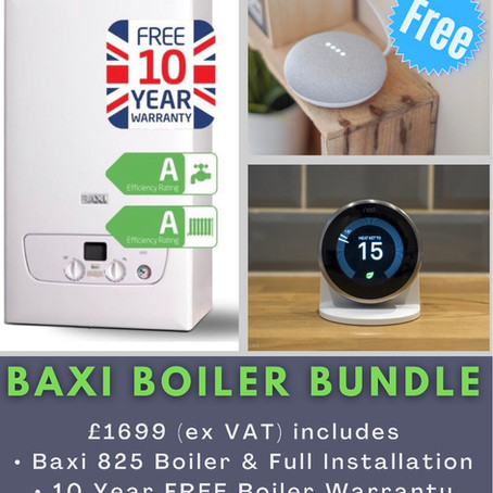 Baxi Boiler and Google Nest Offer