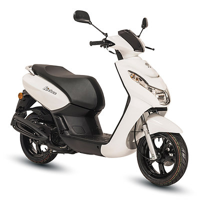 Kisbee 2T 50i active icy white