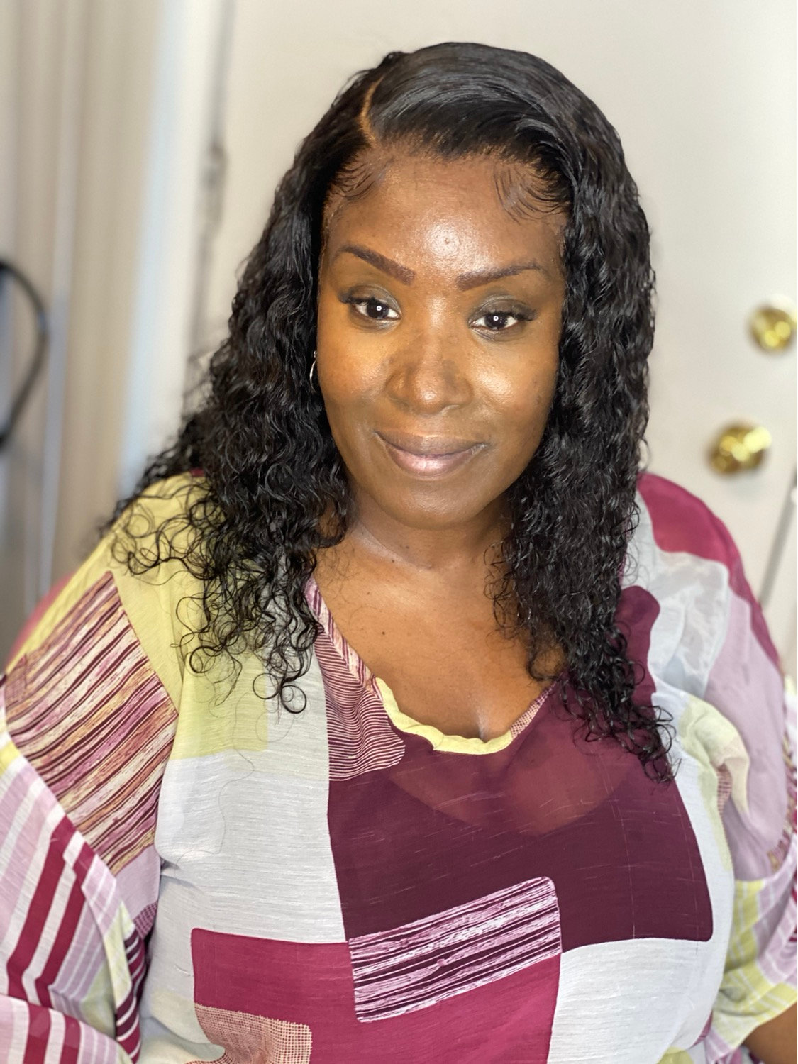 Glue-less Frontal Sew-In