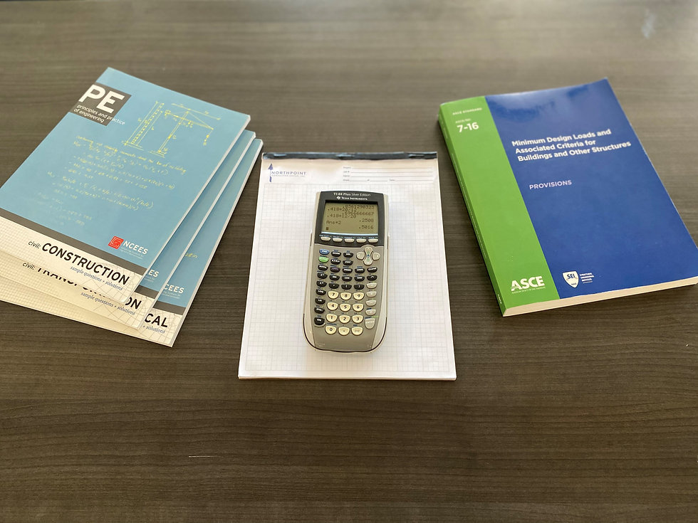 Calculator with NorthPoint calculation notepad, and calculation books