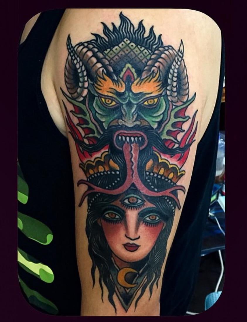 24b631201af27 Theo Mindell | San Francisco Bay Area | Spider Murphys | Tattoo