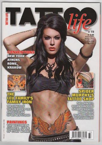TATTOO LIFE ISSUE #73