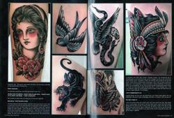 TATTOO ARTIST MAGAZINE  page 24-25