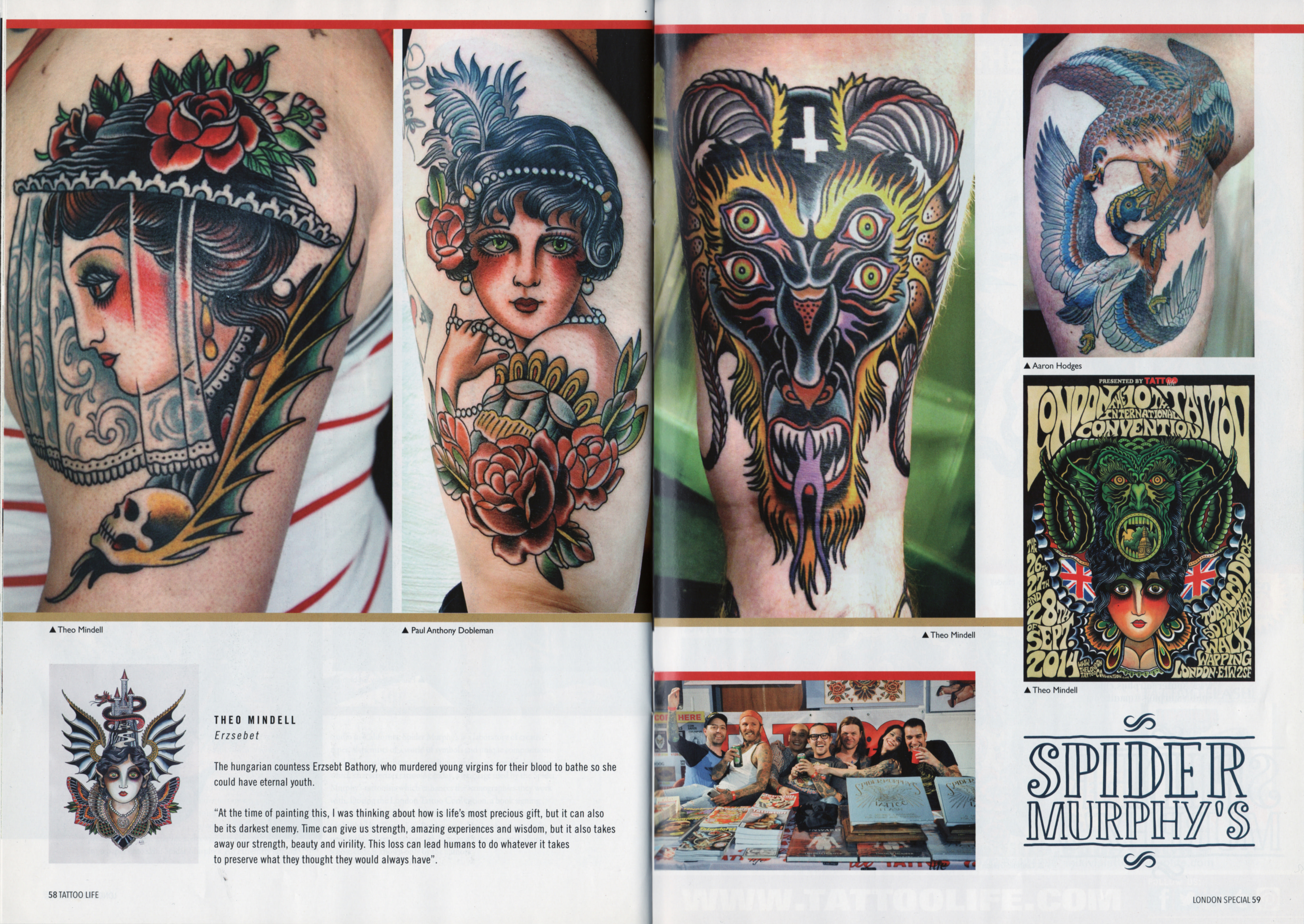 TATTOO LIFE #92 page 58-59