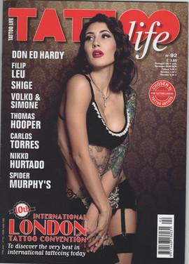 TATTOO LIFE ISSUE #92