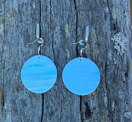 Ocean Blue Circles Medium