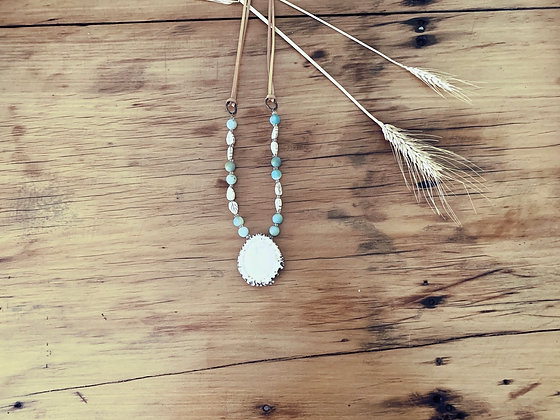 Mint Burr Necklace