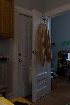 tiffani hani jenny house with towel and