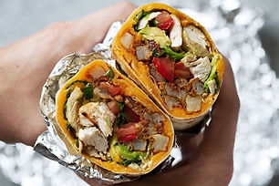 California+chicken+burrito+with+seasoned
