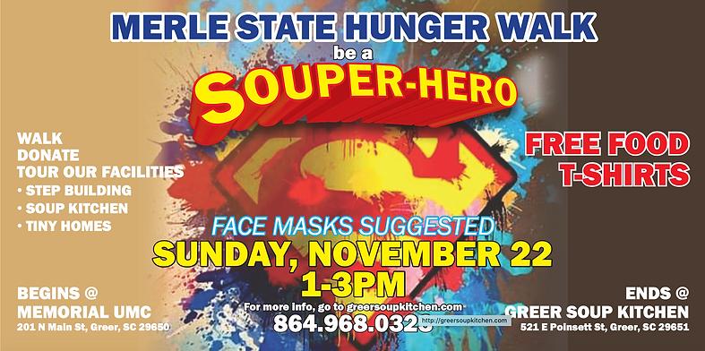 Merle State Hunger Walk 2020