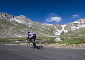 Mt Evans Idaho Springs Cyclist.jpg