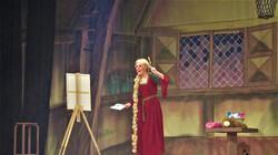 Punzie the Artist (Rapunzel)