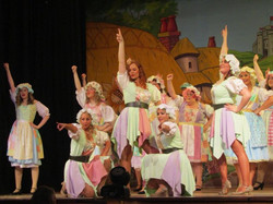 Dancers and Villagers