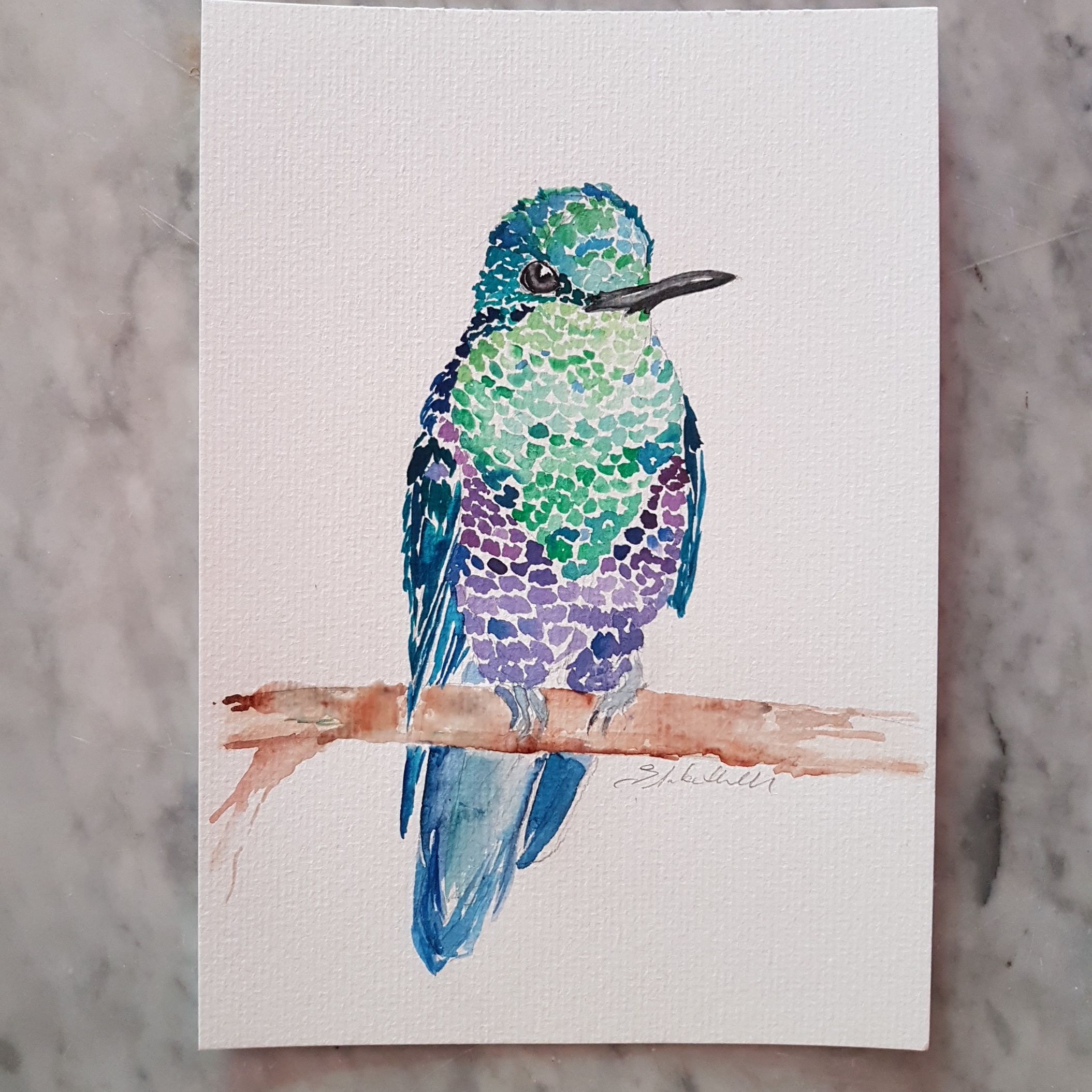 Hummingbird by Liz H Lovell