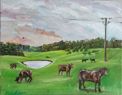 """""""Southern highlands (after the rain)"""" Oi"""