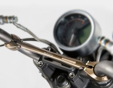 導航或手機座專用擴充架,增加龍頭剛性