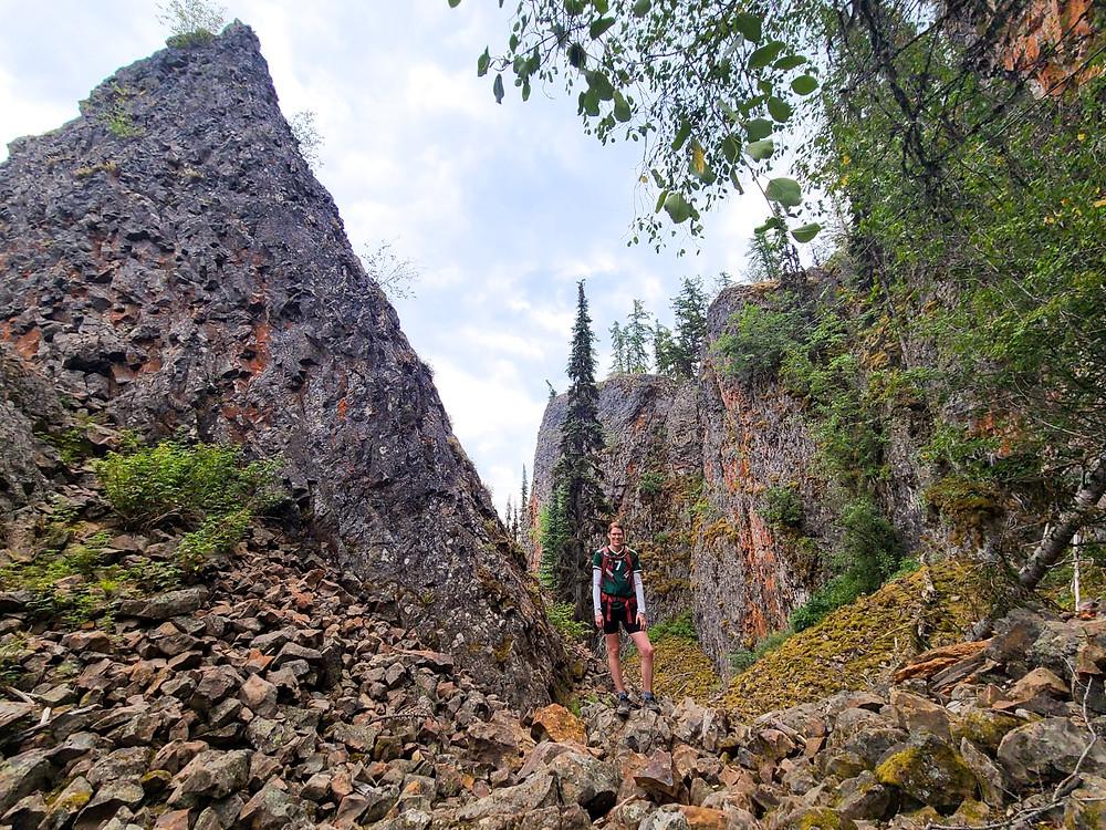 Rim Rocks, hiking, Vernon, outdoors, exploring