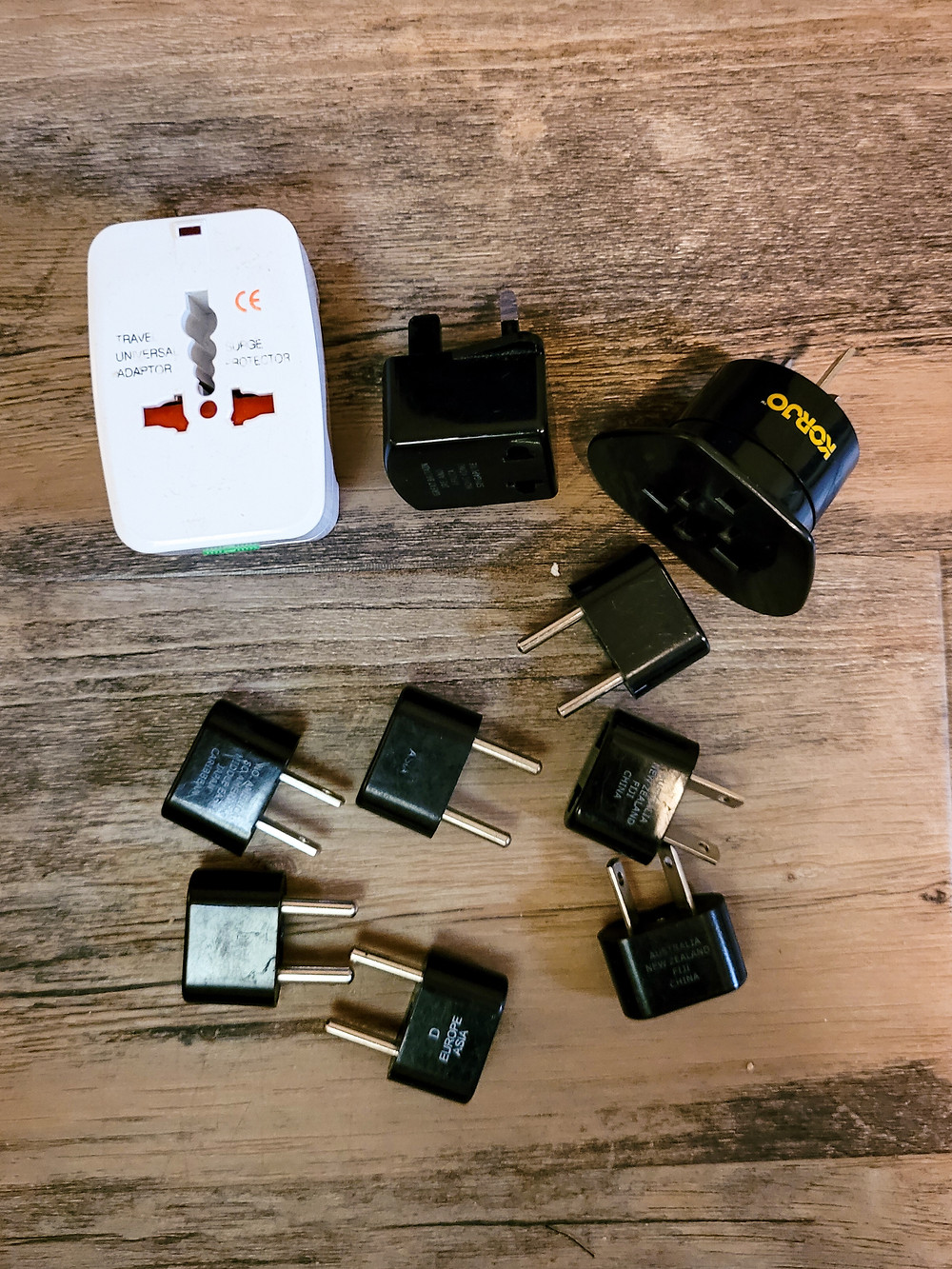 Backpacking, travel, travel gear, travel tips, adaptors