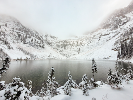 Fall Hiking Guide for Pinnacle Lake in Monashee Mountains, British Columbia