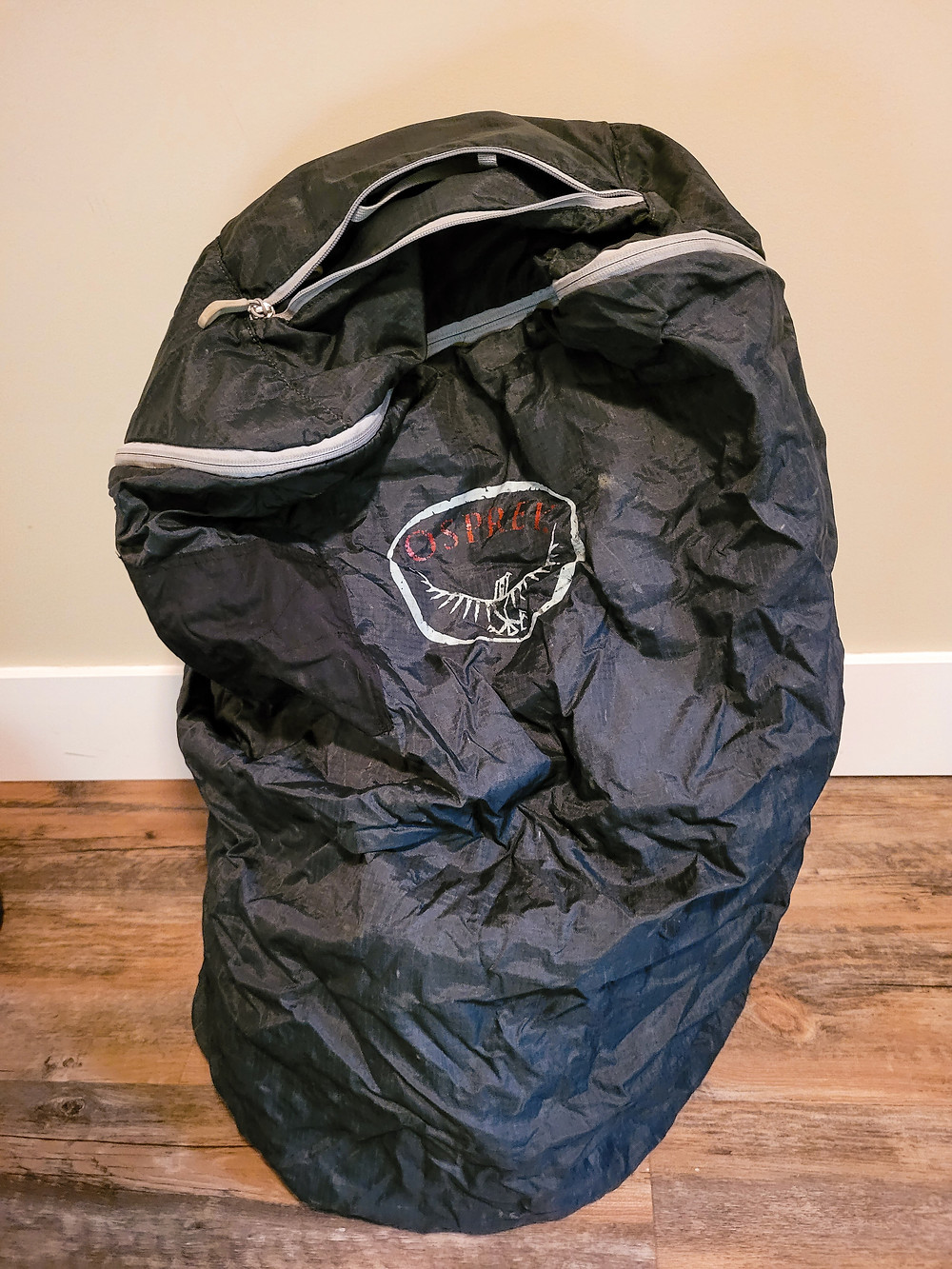 Backpacking, travel, travel gear, travel tips, aiporter cover, Osprey, protective cover