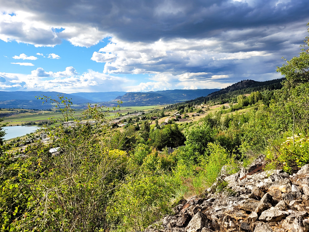Hiking, British Columbia,  outdoors, after-work hikes, Vernon, Grey canal