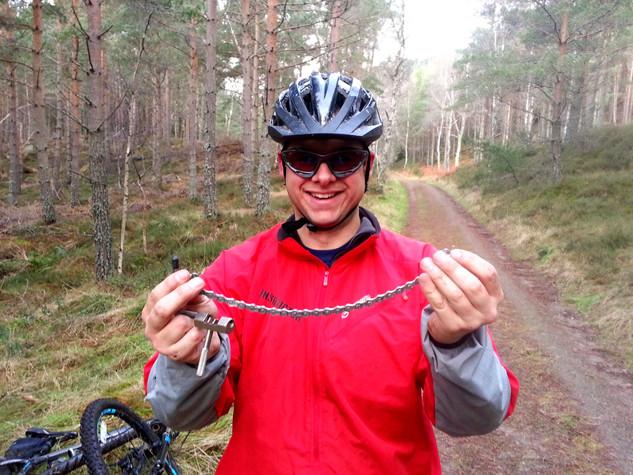 bike maintenance course scotland