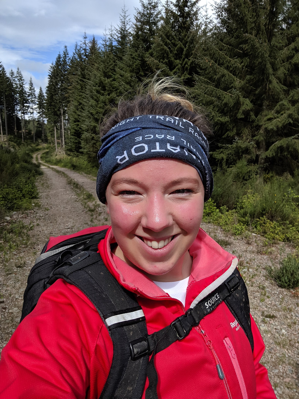 Victoria Phillips-Kennedy aka blogger LadyV - @inladyvsshoes - Illuminator night trail race Scotland