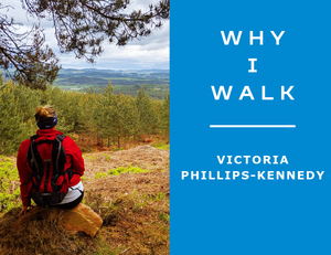 Our trial walker for the Illuminator night trail race 8km route and guest blogger Victoria Phillips-Kennedy - also found @inladyvsshoes on Instagram - sums up beautifully why walking is a fantastic boost for your physical and mental health.