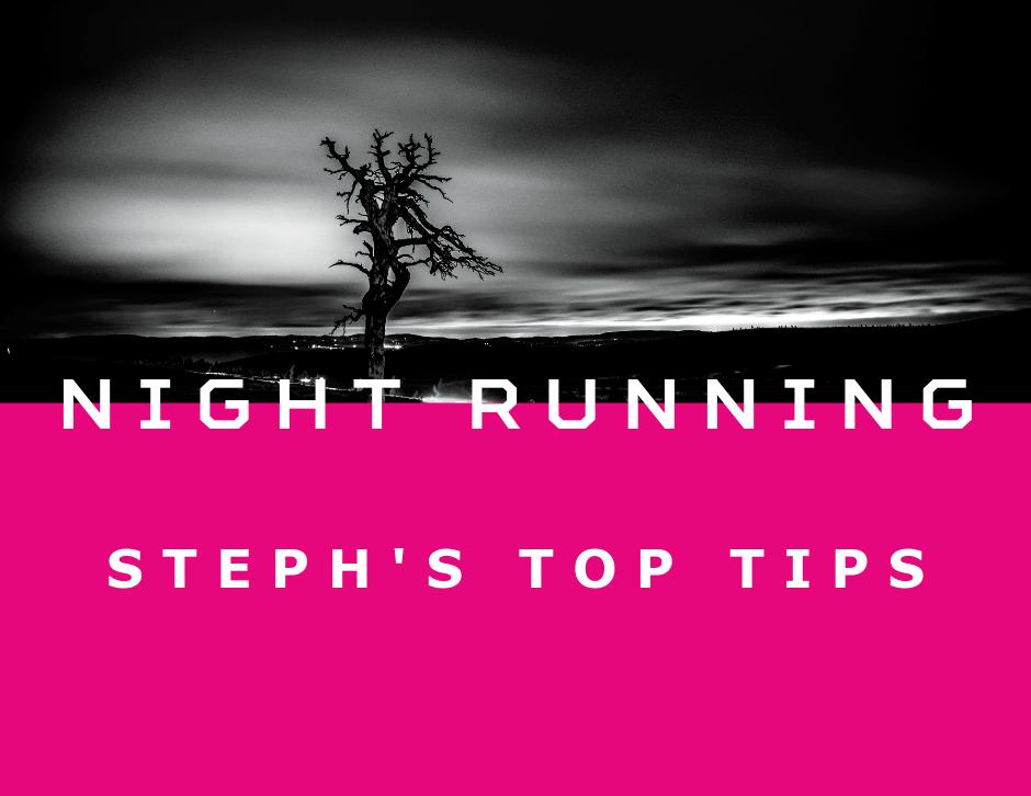 Night Running Tips