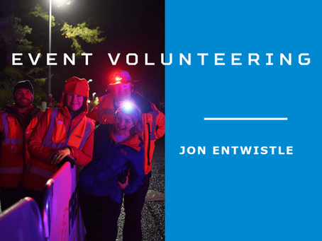 Event Volunteering - Jon Entwistle