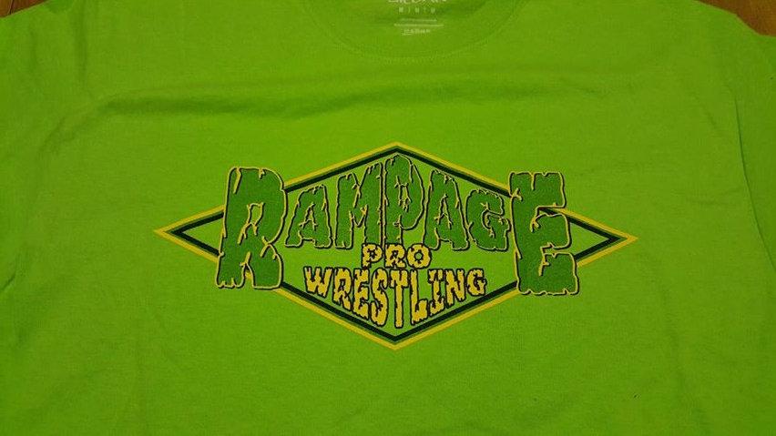 Rampage Pro Wrestling T-SHIRT MEDIUM