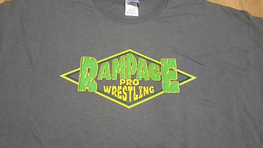 Rampage Pro Wrestling T-SHIRT  SMALL