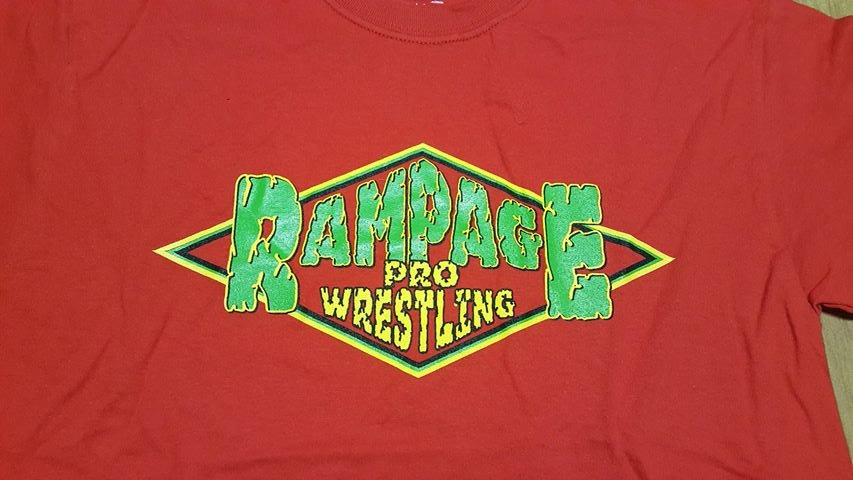 Rampage Pro Wrestling T-SHIRT  XXX-LARGE
