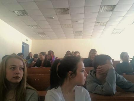 Встеча со студентами СибГУТИ.