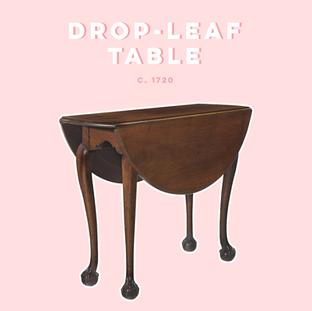 DROP-LEAF TABLE |