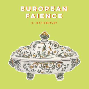 EUROPEAN FAIENCE |