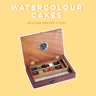 SOLID, SOLUABLE WATERCOLOUR CAKES