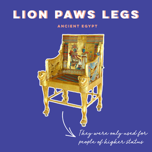 LION PAWS LEGS