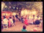 Représentation théâtrale en plein air à La Soupette de Mémère