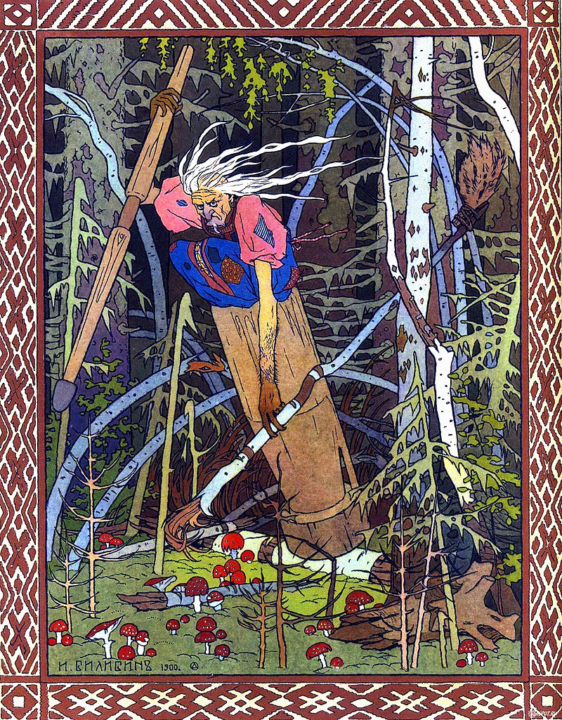 Illustration de Baba Yaga