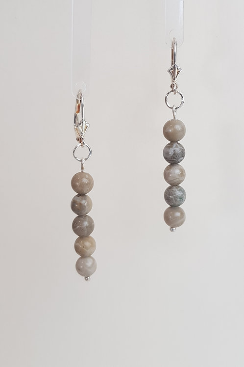 Fossel Jasper Earrings