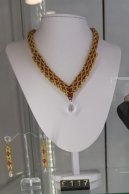 Byzantine Sheet Necklace