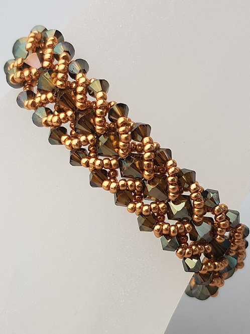 Flat Spiral in Bronze
