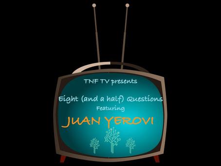 Eight (and a half) Questions with drummer Juan José Egas Yerovi
